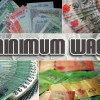 Top 5 countries with the highest minimum wage