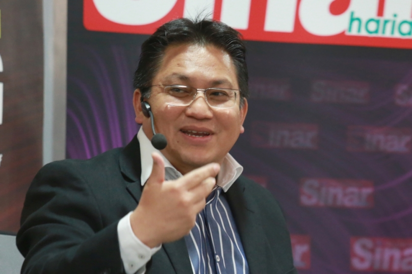 Datuk Nur Jazlan Mohamed. — Photo by Siow Feng Saw