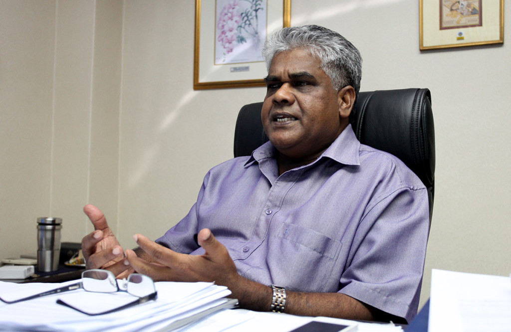 MTUC secretary-general Gopal Kishnam is hopeful the government will move to make employers increase salaries or provide an allowance to cover the increased cost of living. – The Malaysian Insider pic, January 2, 2015.