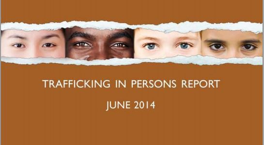 The annual Trafficking in Persons Report released by the US government has this year moved Malaysia to the lowest ranking. - Pic courtesy of the US State Department website, June 20, 2014.