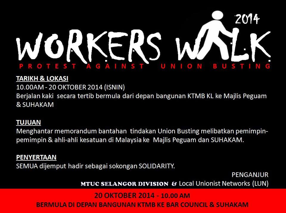 Workers Walk 2014