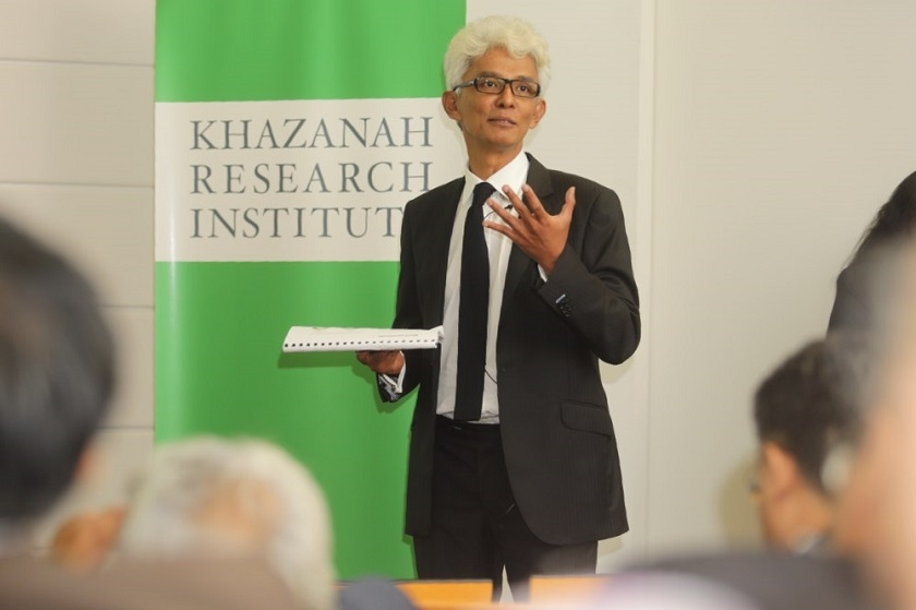 Khazanah Research Institute (KRiS) managing director Datuk Charon Mokhzani at the launch of the 'The State of Households Report' at Khazanah Research Institute, November 17, 2014. — Picture by Choo Choy May