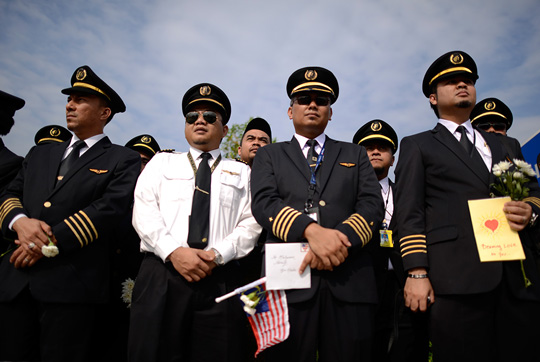 Malaysia Airlines pilots