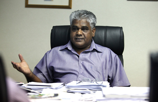 Malaysian Trades Union Congress secretary-general N. Gopal Kishnam says unions fear the changes to the employment and trade unions laws would weaken industrial workers' ability to collectively bargain with their employers. – The Malaysian Insider pic, July 1, 2015.i