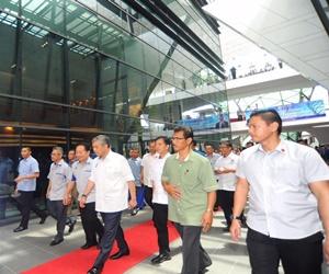 Zahid Hamidi in Sarawak - Bernama