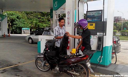 Pro-Mahasiswa at Petronas