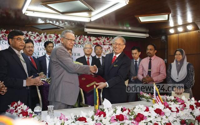 Nurul Islam and Richard Riot Jaem