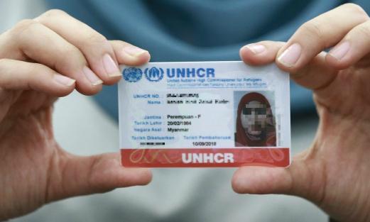 UNCHR card