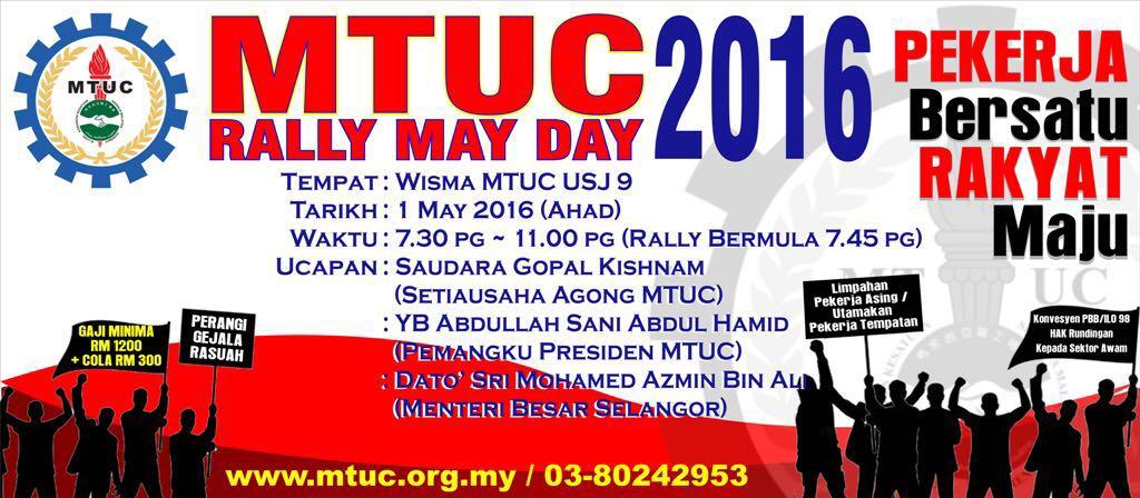 MTUC Mayday