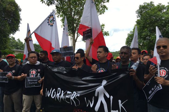 Workers Walk 2016