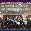 Women's Leadership Workshop and CBA Roundtable Discussion