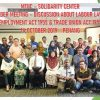MTUC-SOLIDARITY CENTER STAKEHOLDERS ROUNDTABLE DISCUSSIONS ON LABOUR LAW REFORM – 14 OCTOBER 2019
