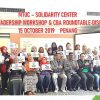MTUC-SOLIDARITY CENTER WOMEN LEADERSHIP WORKSHOP & CBA ROUNDTABLE DISCUSSION 15 OCTOBER 2019